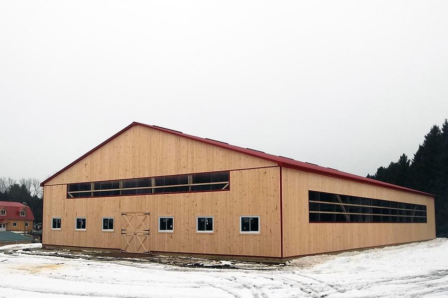 Denco Storage Sheds Custom Horse Barns Stables Arenas