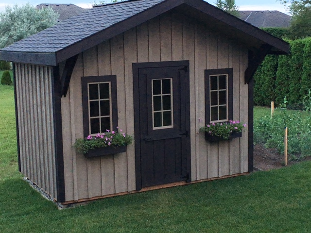 Denco storage sheds bunkies cottages modular horse for Prefabricated garages ontario