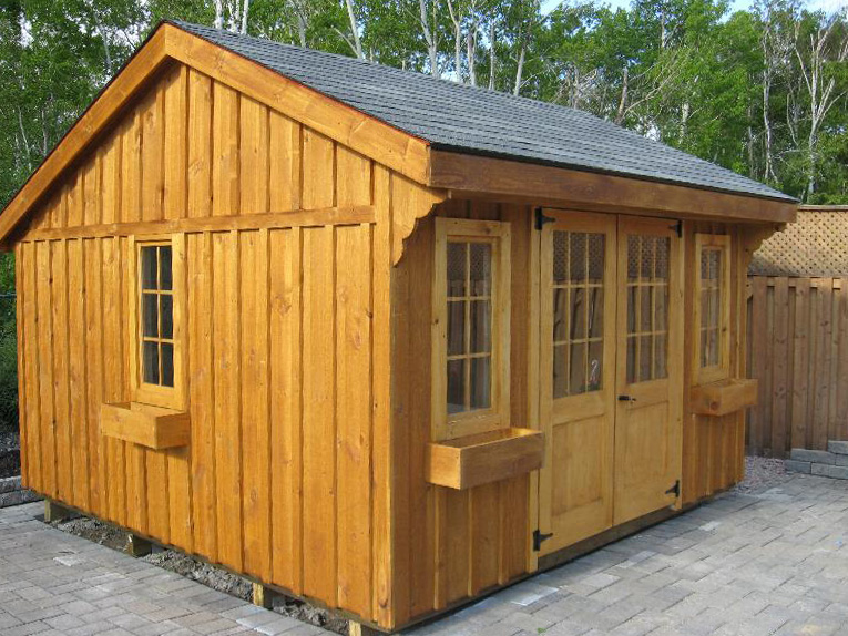 Denco Storage Sheds Saltbox Shed