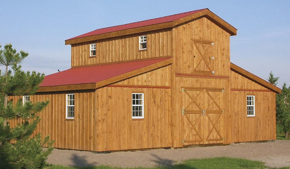 Denco Storage Sheds Modular Horse Barns Pre Fab Stall